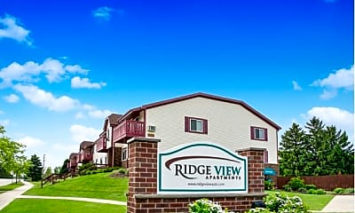 Community Signage, Ridge View Apartments, 0