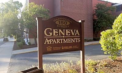 Geneva Plaza Apartments, 1