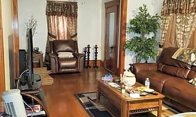 Living Room, 1509 East 115th St., 1