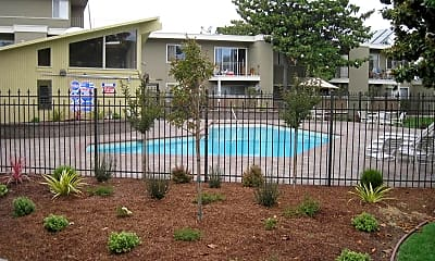 Pool, Pentagon Apartments, 0