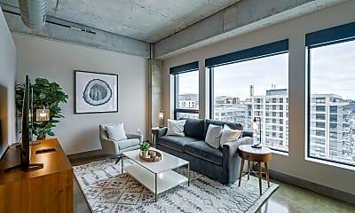 Living Room, 728 N 3rd St 606, 0