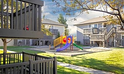 Playground, Apartments at Decker Lake, 2