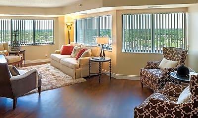 Living Room, Skyrise Luxury Apartments, 1
