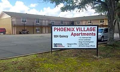 Community Signage, Phoenix Village Apartments, 0