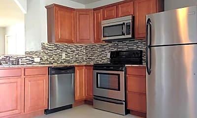 Kitchen, Maple 500 Apartments, 0