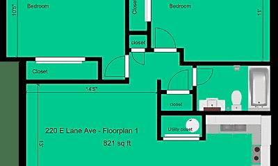 Building, 220 E Lane Ave, 1