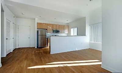 Living Room, 401 S Grand View St, 1