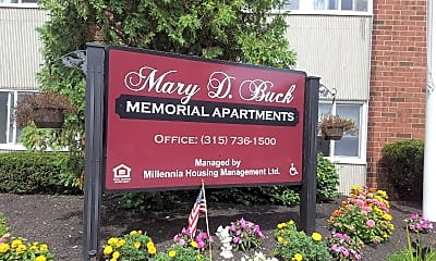 Mary D Buck Memorial Apts, 1