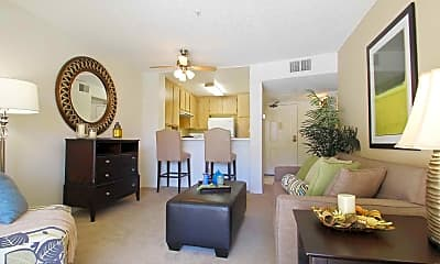 Living Room, Loma Linda Springs Apartments, 0