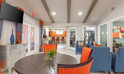Dining Room, Parke East Apartments, 0