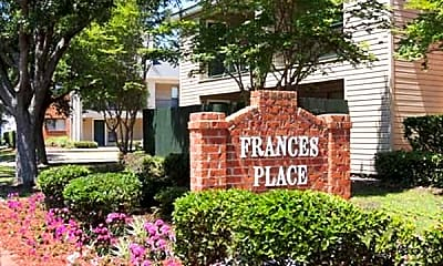 Community Signage, Frances Place Apartments, 2