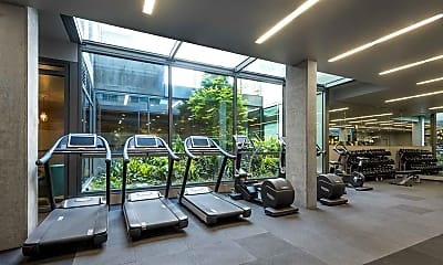 Fitness Weight Room, The Civic Apartments, 1