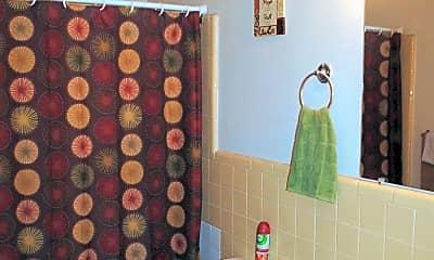 Bathroom, Oakwood Apartments, 2