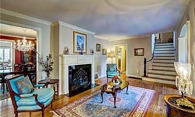 Living Room, 6502 N Lenox Ave, 1