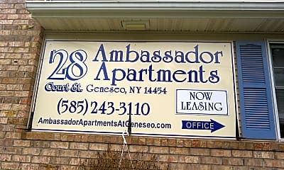 Ambassador Apartments, 1