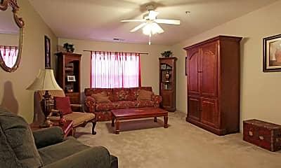 Living Room, Tulane Park, 1