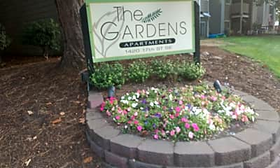 The Gardens Apartments, 1