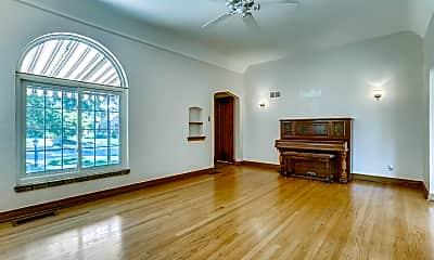 Living Room, 1336 Glencoe Street, 1