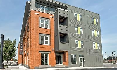 Building, Wilshaw Apartments, 1