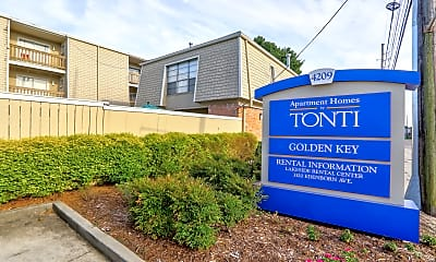 Community Signage, Golden Key Rental Center, 2