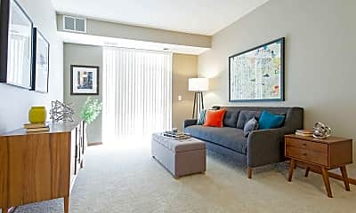 Living Room, Remington Cove Apartments, 1