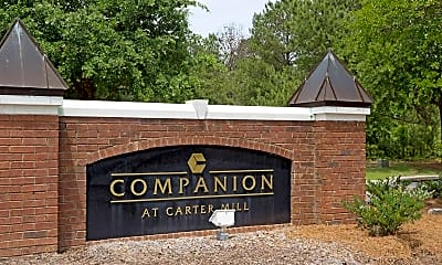 Community Signage, Companion at Carter Mill, 2