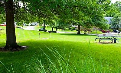 Landscaping, Stadium View Apartments, 2