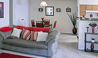Living Room, Arbors At Riverbend, 1