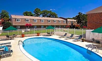 Pool, Hidenwood North, 1