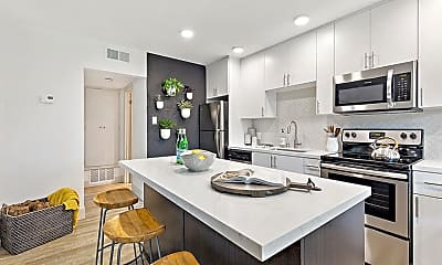Kitchen, The Franciscan Apartments, 0