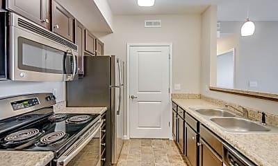 Kitchen, 5700 Madison Apartments, 1
