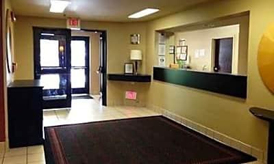 Foyer, Entryway, Furnished Studio - Boston, 1