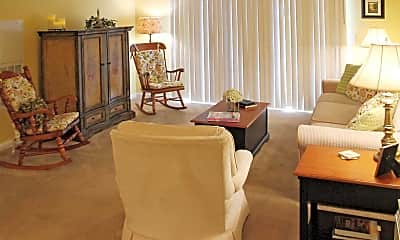 Living Room, Westbury Lake, 1