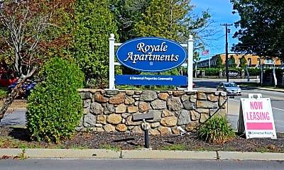 Community Signage, Royale, 2