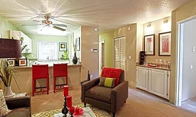 Living Room, Stoneridge At Cornell, 1