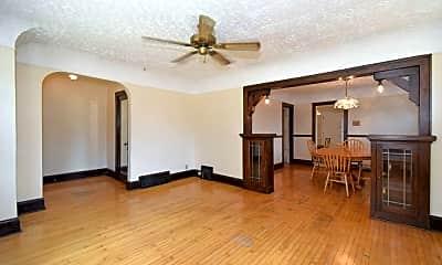 Living Room, 1835 E Howard Ave LOWER, 1