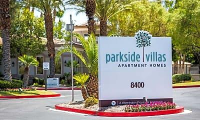 Community Signage, Parkside Villas, 1