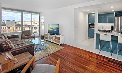Living Room, 6050 Boulevard E 8D, 0