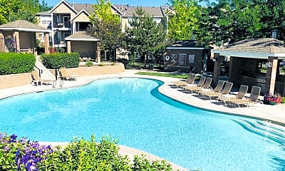 Pool, The Crossings At Chapel Hill, 1