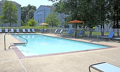 Pool, Pilot House Apartments, 1