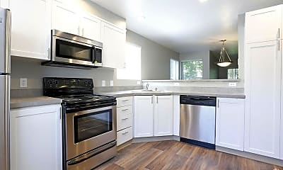 Kitchen, Meridian Green Townhomes, 0