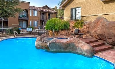 Pool, The Arboretum at Quail Canyon, 1