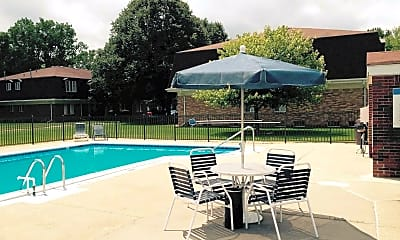 Pool, Chesterfield Manor, 1