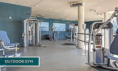 Fitness Weight Room, Esprit, 1
