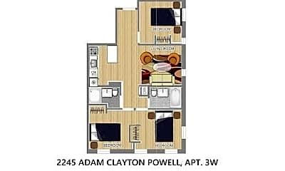 2245 Adam Clayton Powell Jr Blvd 2-W, 2