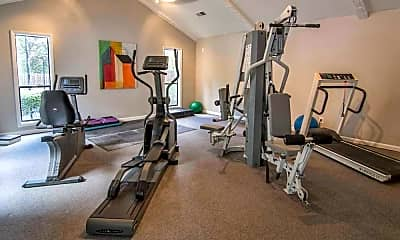 Fitness Weight Room, The Springs Townhomes, 1