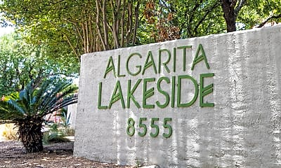 Community Signage, Algarita Lakeside, 2