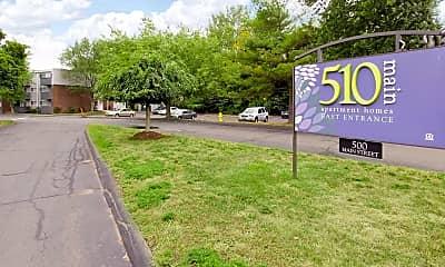 Community Signage, 510 Main Apartment Homes, 2