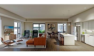 Living Room, 721 N 3rd St 415, 0