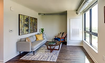 Living Room, Vantage on the Park, 1